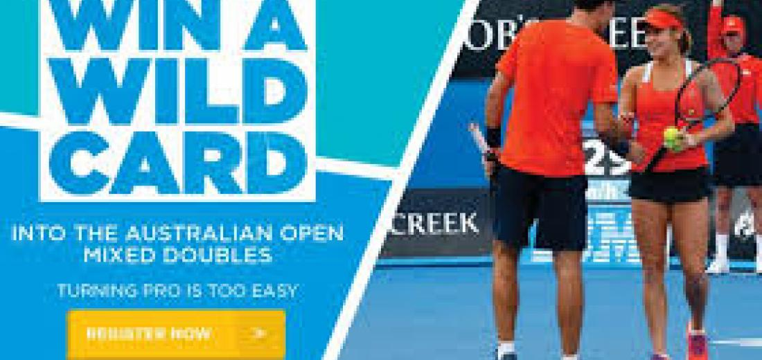 AUSTRALIA OPEN WILDCARD